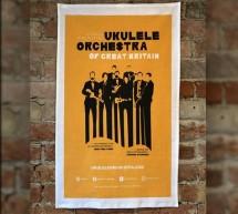Orange Tour Poster Tea Towel
